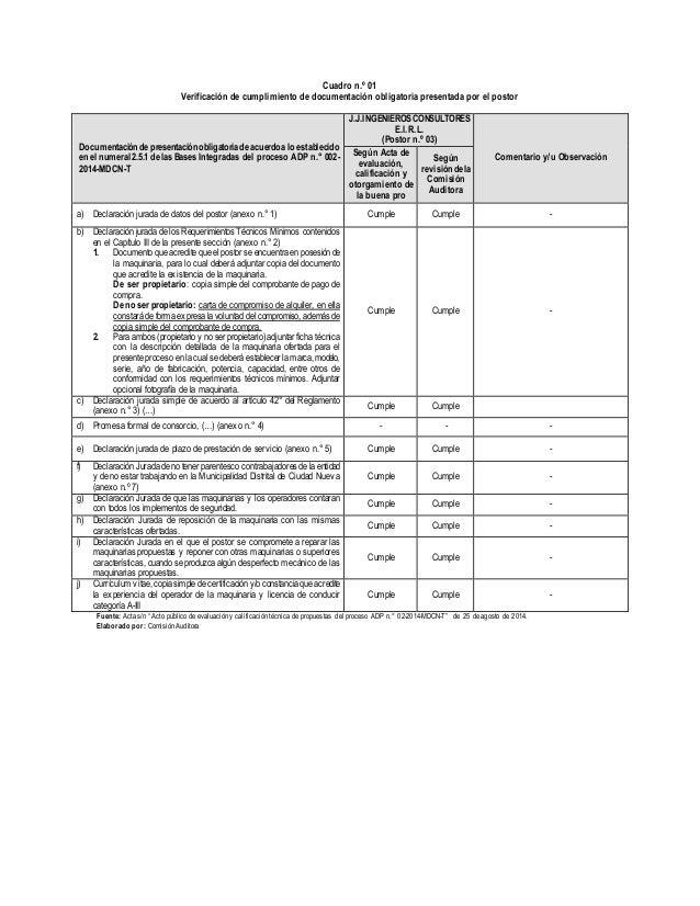 Calificación adp n.° 02 2014-mdcn-t Slide 2