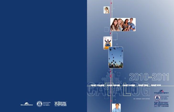 California College San Diego Catalog 2010-2011