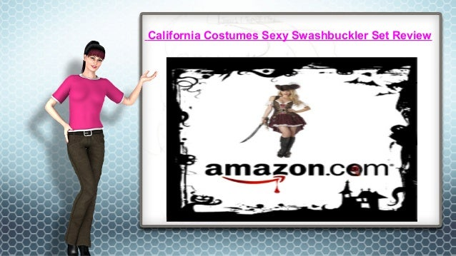 California Costumes Sexy Swashbuckler Set Review