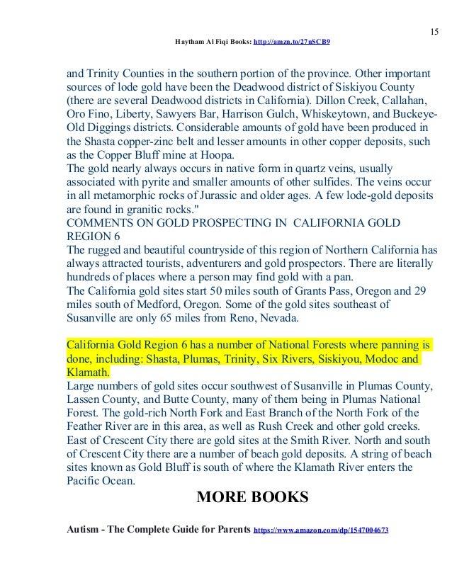 California gold region