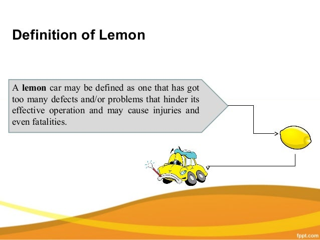 Ca Lemon Law >> California Lemon Law