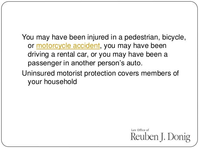 If you share a residence with a family member who has car insurance, you may be covered under his or her policy, even if y...