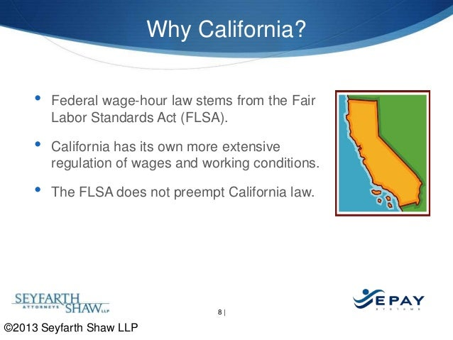 California Wage And Hour Law Avoiding Common Pitfalls