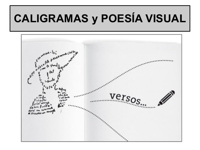 CALIGRAMAS y POESÍA VISUAL