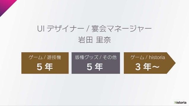 【出張ヒストリア2018】Caligula OverdoseでのUIデザインアプローチ Slide 3