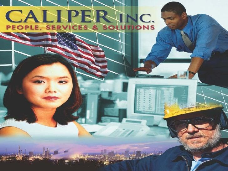 1/31/2011   www.caliper.net   1