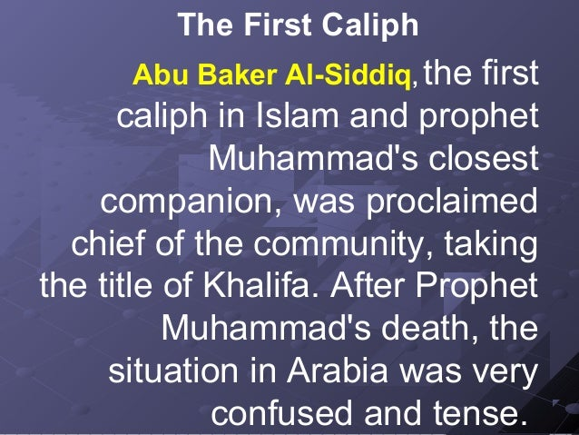 Caliphate in islam (ppp)