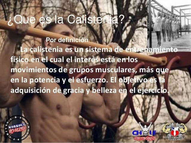 calistenia y streetworkout