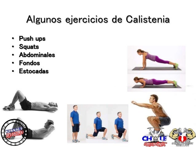 calistenia y street workout