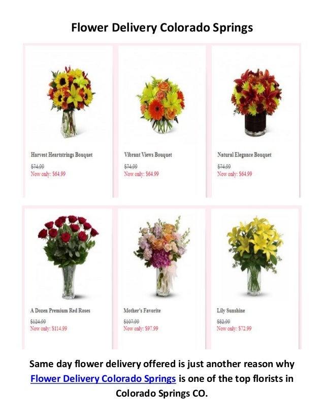 Call 719 602 6128 For Flower Delivery In Colorado Springs