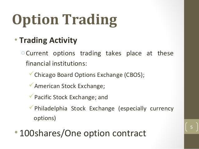 Options trading philadelphia