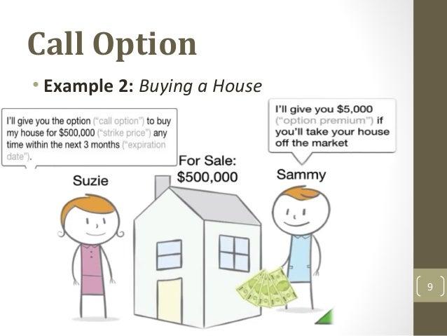 Stock options calls vs puts