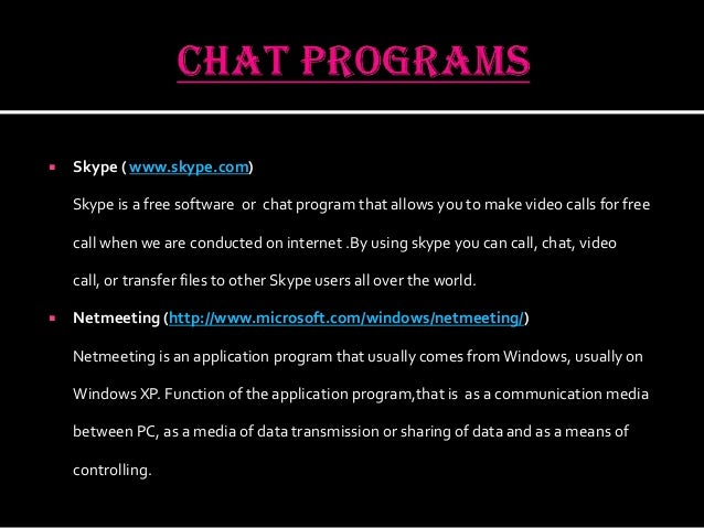 Call - How to use chat