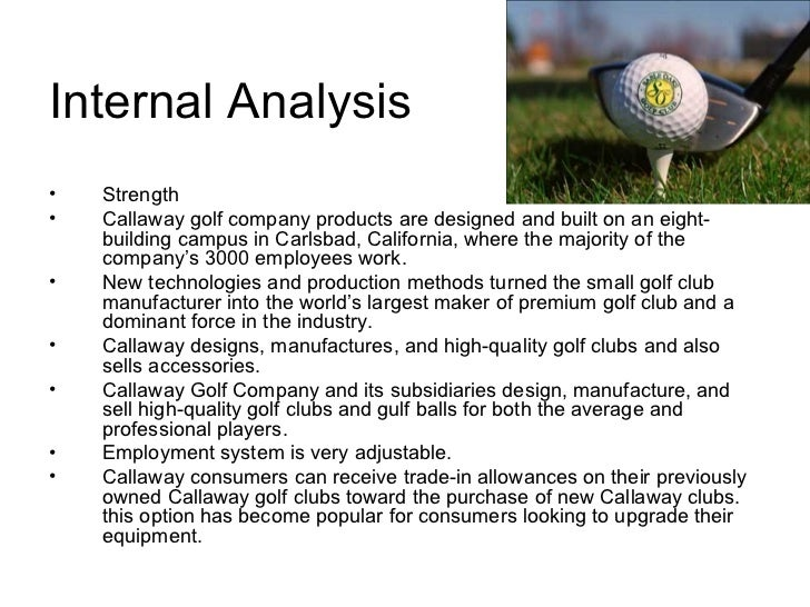 Callaway Golf Company Case Study Analysis