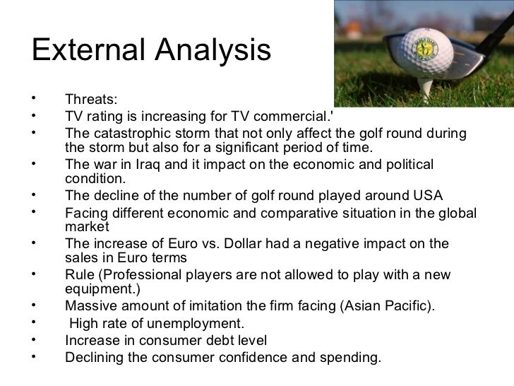 callaway golf swot analysis Callaway golf company - strategy, swot and corporate finance report, is a source of comprehensive company data and information the report covers the company's structure, operation, swot analysis, product and service offerings and corporate actions, providing a 360˚ view of the company.