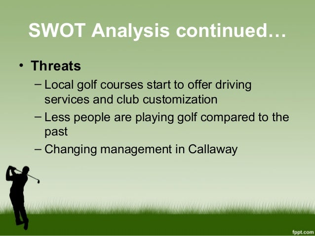 swot analysis on nike golf equipment Nike is the world's no 1 shoemaker it designs and sells shoes for a variety of  sports including baseball, golf, cheerleading, volleyball, tennis.