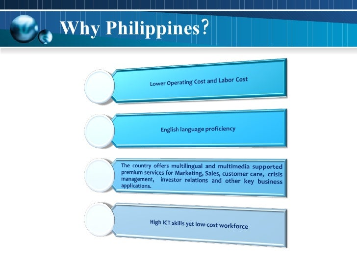 Why Philippines?