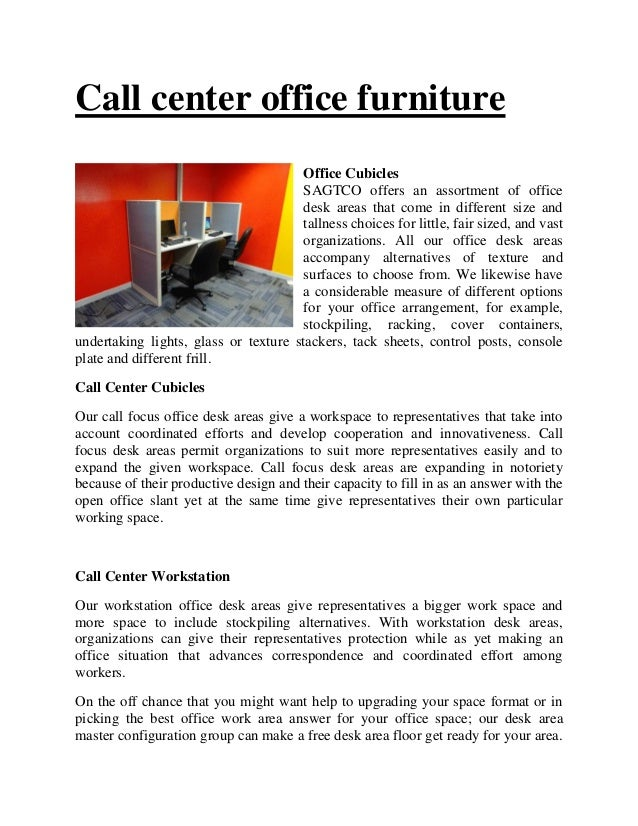 Call center office furniture Office Cubicles SAGTCO offers an assortment of office desk areas that come in different size ...