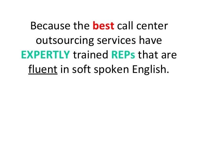 Outsourced Call Center Services : Call center outsourcing services
