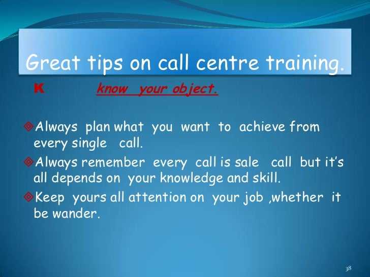 Call centre presentation.ppt