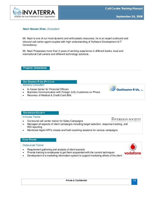 call centre training manual rh slideshare net call center training manual pdf call center training manual free download