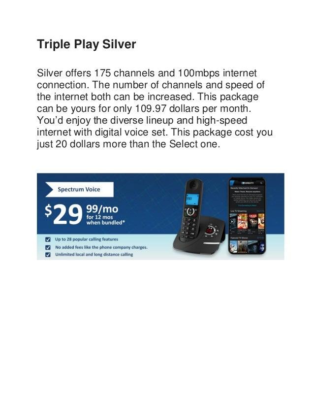 spectrum high speed internet prices