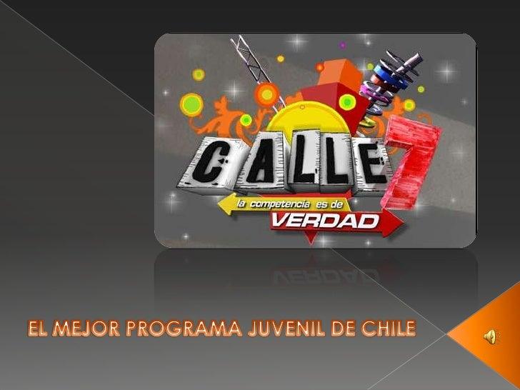 EL MEJOR PROGRAMA JUVENIL DE CHILE<br />