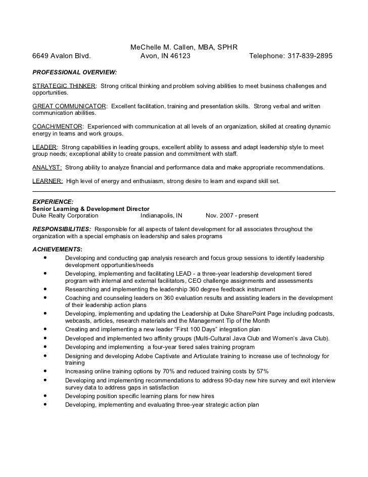 Callen Resume