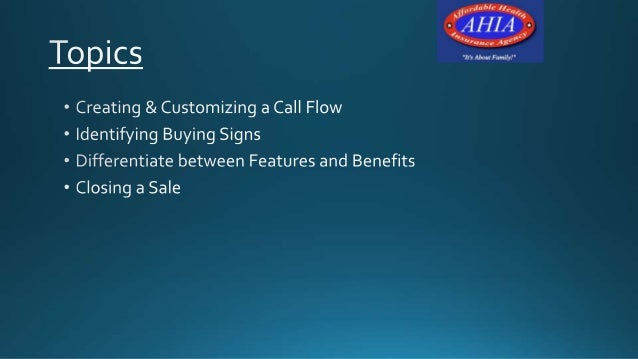 Call flow(scripting)call center training sales  Slide 3