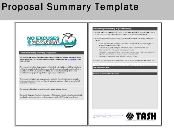 2011 Tash Conference Call For Proposals Webinar