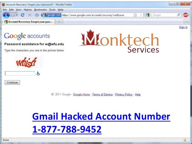 Call gmail hacked account number 1 877-788-9452