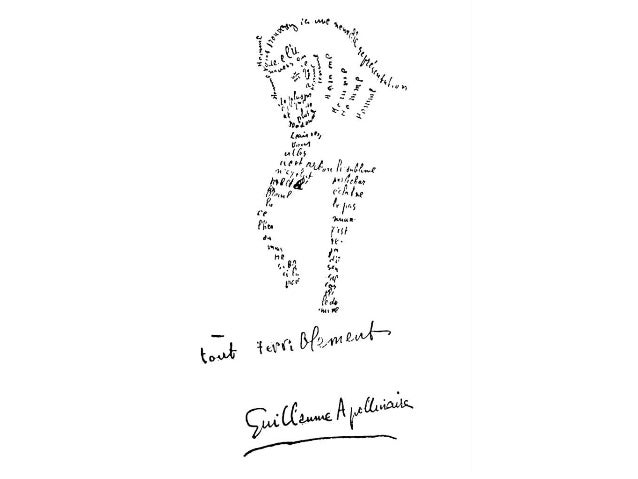 Calligrammes d'Apollinaire  Slide 2