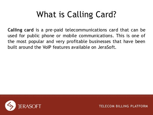 calling cards business telecom billing platform 2 - Phone Calling Cards