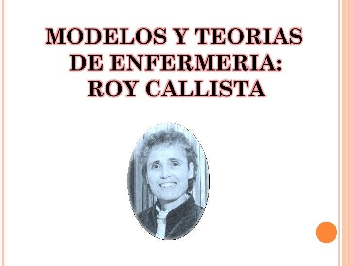 Callista roy Slide 2