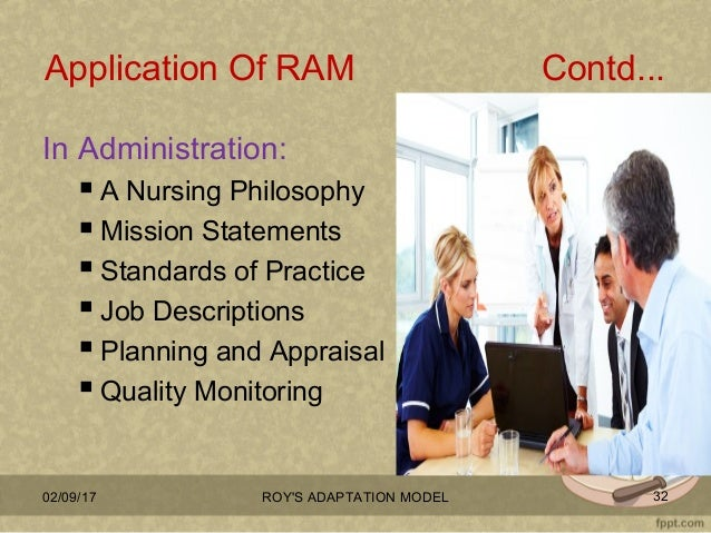 weaknesses of roy adaption model 1 nurs sci q 1994 summer7(2):80-6 using roy's adaptation model in practice: nurses' perspectives weiss me, hastings wj, holly dc, craig di.