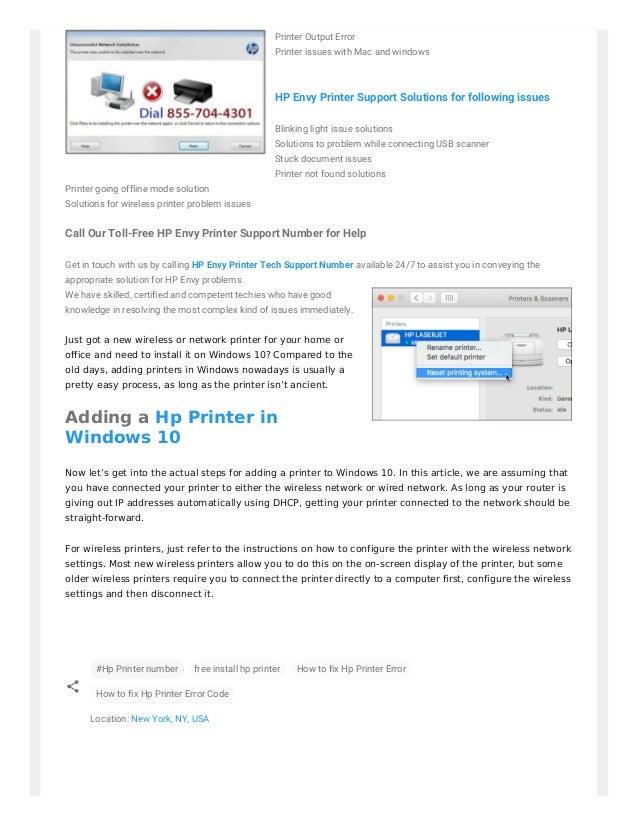 windows 10 wireless printing issues