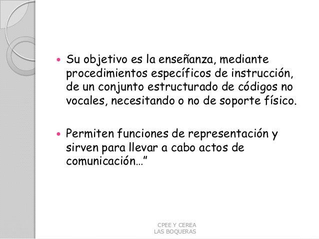 SISTEMAS SAAC   PECS  - HABLA SIGNADA DE B. SCHAEFFER Slide 3