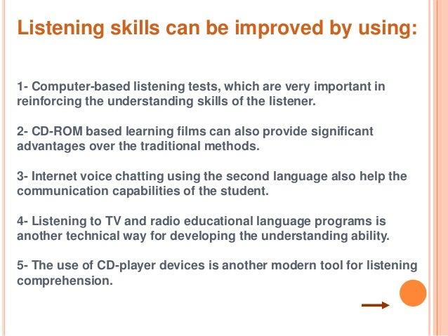 advantages of listening skills