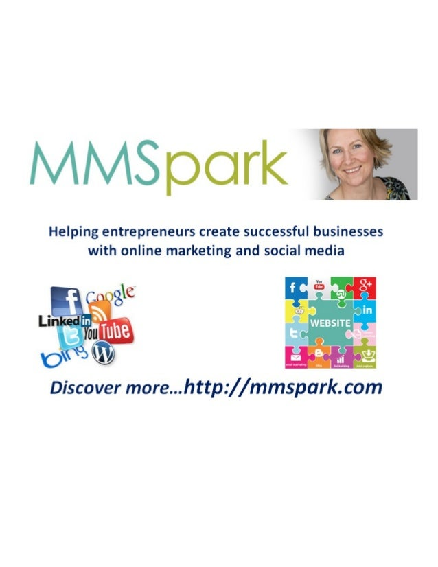 Helping entrepreneurs create successful businesses with online marketing and social media  Vnu   Cnj)%C ' '(D  1.':  Lihke...
