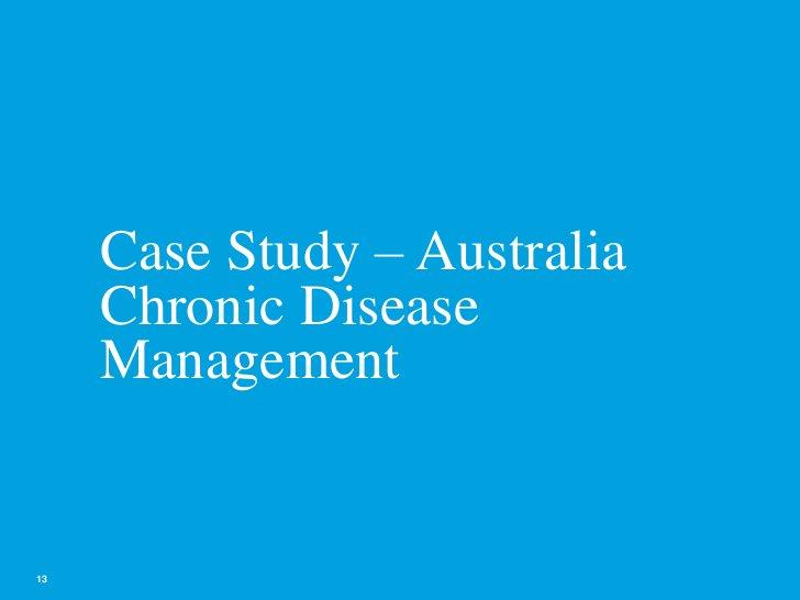 Chronic Disease Management 2.0 Strategy