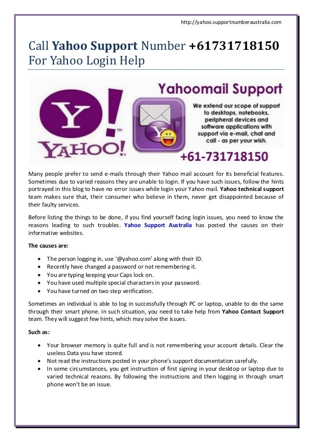 yahoo australia mail login