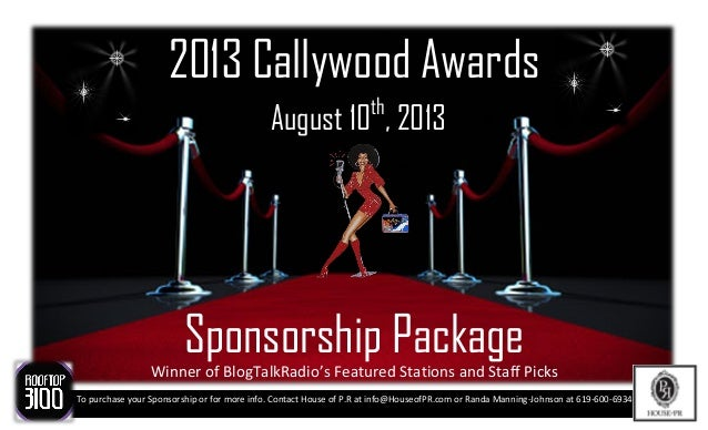 Sponsorship Opportunities Available. Contact House of P.R at info@HouseofPR.com or Randa Manning-Johnson at 619-600-6934To...