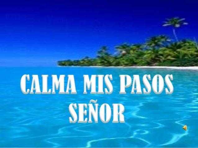 EL SEÑOR ES MI PASTOR, NADA ME FALTA, ENVERDES PASTOS EL ME HACE REPOSAR Y ADONDEBROTA AGUA FRESCA ME CONDUCE.SALMO 23:1-2...