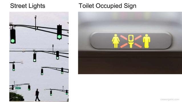 caseorganic.com Street Lights Toilet Occupied Sign