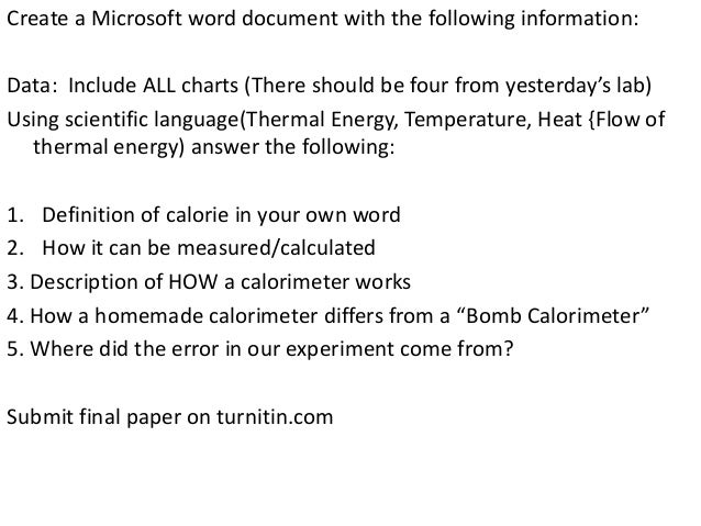 Create a Microsoft word document with the following information: Data: Include ALL charts (There should be four from yeste...