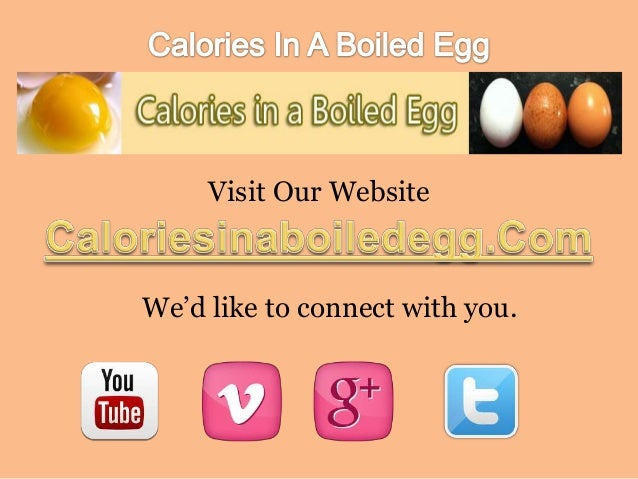 How Many Calories In A Hard Boiled Egg