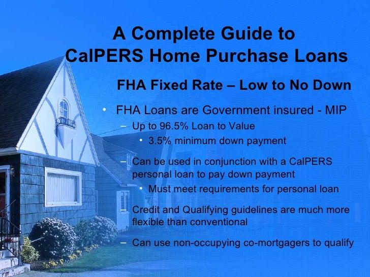 Calpers Personal Loans