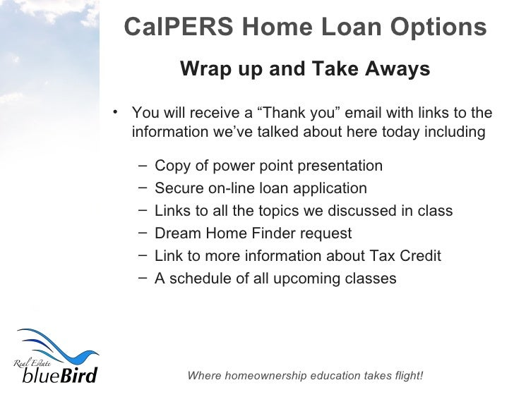 100% Financing Options For CalPERS Members