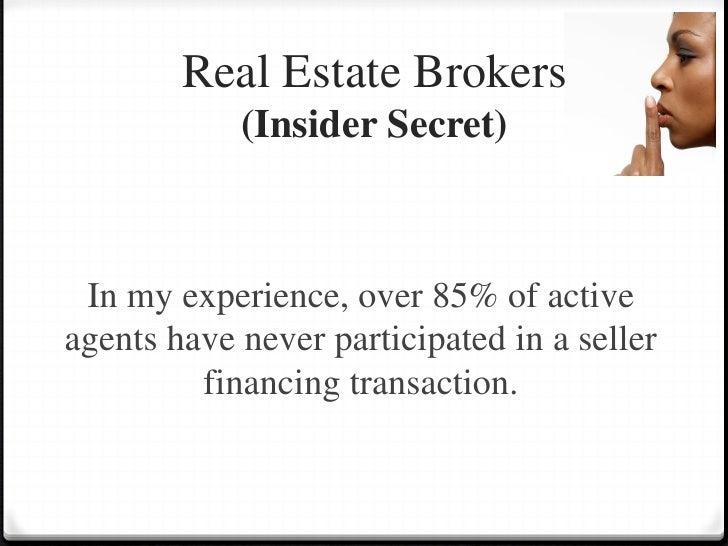 Seller Financing Presentation- Davies Company Real Estate