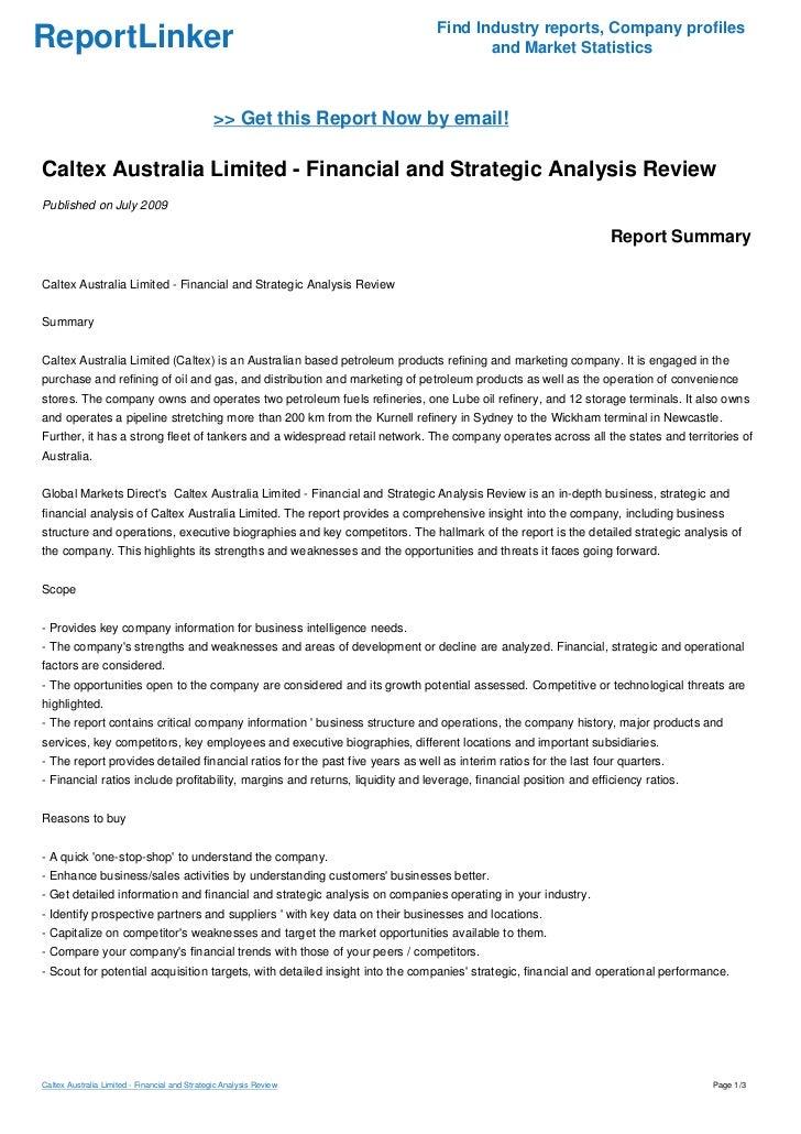 Strategic Review of Australian Department Store David Jones